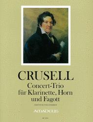 Concert Trio Sheet Music by Bernhard Henrik Crusell