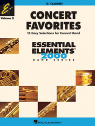 Concert Favorites Vol. 2 - Clarinet Sheet Music by James Curnow