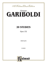 20 Studies Op 132 Sheet Music by Giuseppe Gariboldi