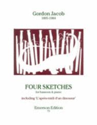 Four Sketches Sheet Music by Gordon Jacob