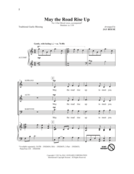 May The Road Rise Up Sheet Music by Jay Rouse