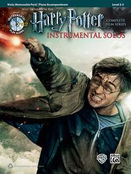 Harry Potter Instrumental Solos for Strings Sheet Music by Various