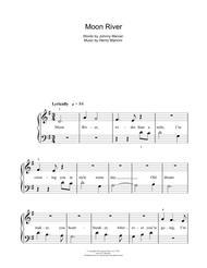 Moon River Sheet Music by Henry Mancini