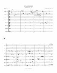 Jubilate Deo - Psalm 99 Sheet Music by Giovanni Gabrieli