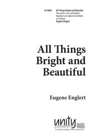 All Things Bright and Beautiful Sheet Music by Eugene E. Englert