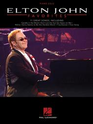 Elton John Favorites Sheet Music by Elton John
