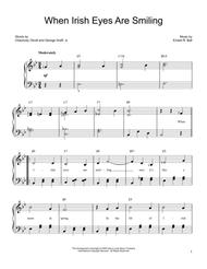 When Irish Eyes Are Smiling Sheet Music by Ernest R. Ball