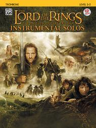 The Lord of the Rings - Instrumental Solos (Trombone) Sheet Music by Howard Shore