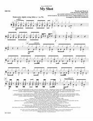 My Shot (arr. Roger Emerson) - Drums Sheet Music by Albert Johnson