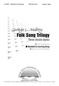 Blackbird's Courting Song Sheet Music by George L. Mabry
