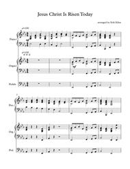 Jesus Christ is Risen  Today - (Easter Hymn) - Piano and Organ Duet Sheet Music by Unknown