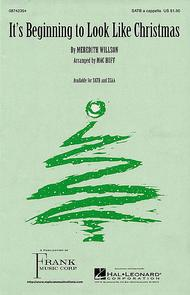 It's Beginning to Look Like Christmas Sheet Music by Meredith Willson