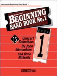 Beginning Band Book No. 1 - 1st Clarinet Sheet Music by John Edmondson