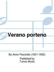 Verano porteno Sheet Music by Astor Piazzolla