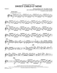 Sweet Child O' Mine - Violin 1 Sheet Music by Guns N' Roses