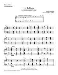 He Is Risen (HC) Sheet Music by Joachim Neander