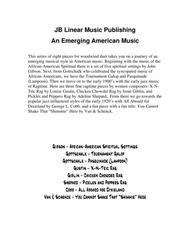An Emerging American Music for clarinet and bassoon duet Sheet Music by Gottschalk