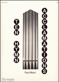 Ten Hymn Acclamations Sheet Music by Paul Manz