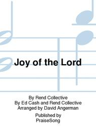 Joy of the Lord Sheet Music by Rend Collective