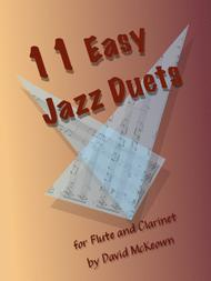 11 Easy Jazz Duets for Flute and Clarinet Sheet Music by David McKeown