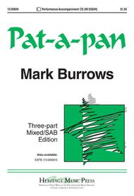 Pat-a-pan Sheet Music by Mark Burrows