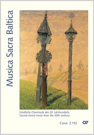 Musica Sacra Baltica. Sacred choral music from the 20th century for service and concert for mixed choir a cappella Sheet Music by Various