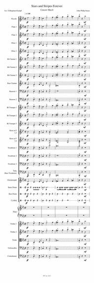 Stars and Stripes Forever Sheet Music by John Philip Sousa