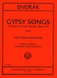 Gypsy Songs. A Cycle of 7 Songs