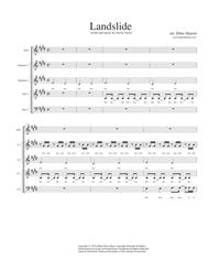 Landslide Sheet Music by Deke Sharon