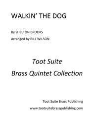 Walkin' The Dog Sheet Music by Shelton Brooks