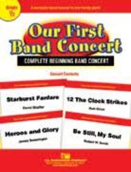 Our First Band Concert Sheet Music by Shaffer