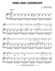 King And Lionheart Sheet Music by Of Monsters and Men