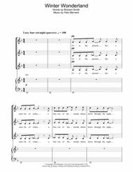 Winter Wonderland (arr. Berty Rice) Sheet Music by Richard Smith