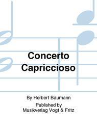 Concerto Capriccioso Sheet Music by Herbert Baumann