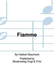 Fiamme Sheet Music by Herbert Baumann