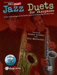 Gordon Goodwin's Big Phat Jazz Saxophone Duets Sheet Music by Gordon Goodwin with Eric Marienthal