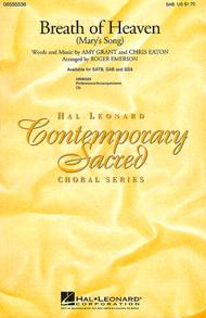 Breath of Heaven Sheet Music by Amy Grant
