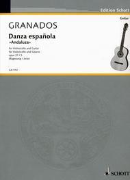 Danza espanolaAndaluza op. 37/5 Sheet Music by Enric Granados i Campina