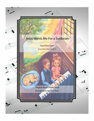 Jesus Wants Me For a Sunbeam - easy piano duet Sheet Music by Edwin Excell