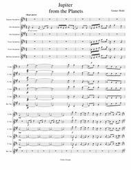 Jupiter Sheet Music by Holst