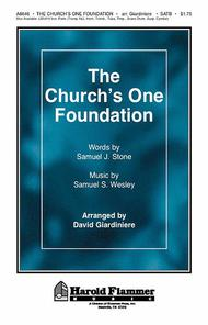 The Church's One Foundation Sheet Music by Samuel J. Stone
