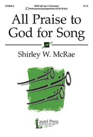 All Praise to God for Song Sheet Music by Shirley W. McRae