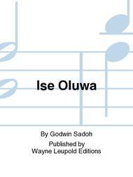 Ise Oluwa Sheet Music by Godwin Sadoh
