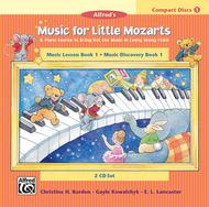 Music for Little Mozarts - Book 1 (CDs) Sheet Music by Christine H. Barden