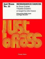 Renaissance Dances Sheet Music by Elgar Howarth_Philip Jones