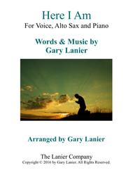 Gary Lanier: HERE I AM (Worship - For Voice