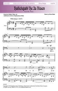 Hallelujah He Is Risen Sheet Music by Brian Buda