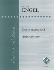 Danse bulgare no 2 Sheet Music by Claude Engel
