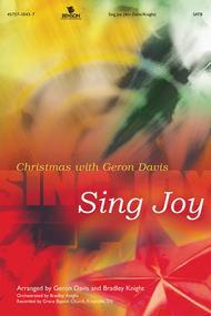 Sing Joy (Listening CD) Sheet Music by Geron Davis