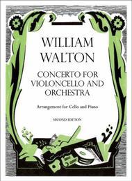 Cello Concerto Sheet Music by William Walton